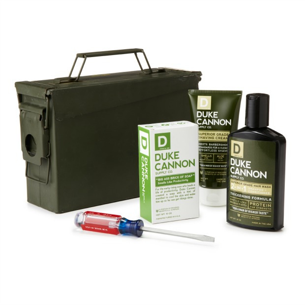 Men's Military Field Grooming Set | UncommonGoods