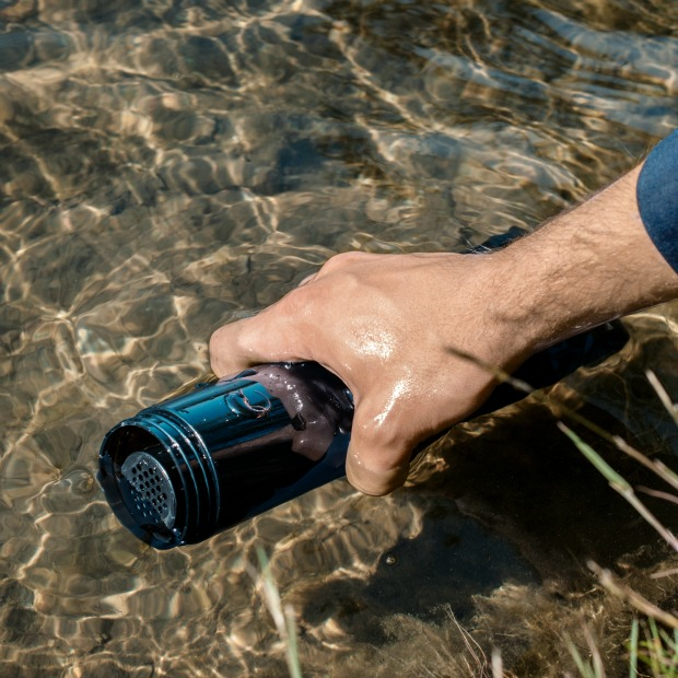 Adventure Filter Water Bottle | UncommonGoods