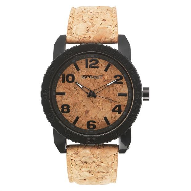 Cork Watch Large | UncommonGoods