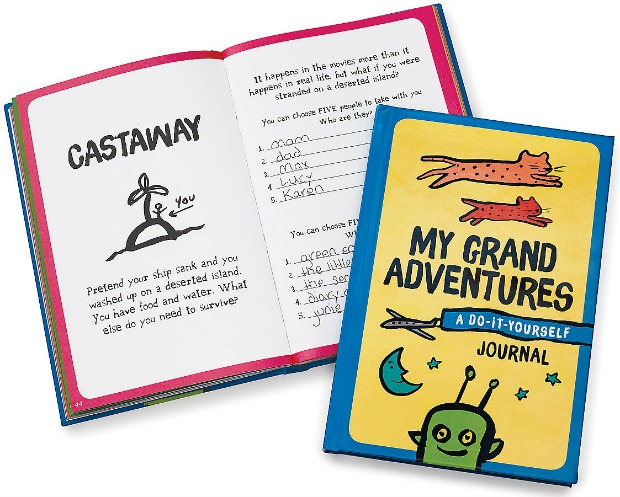 My Grand Adventures - A DIY Journal | UncommonGoods