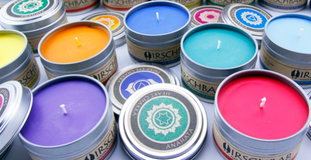 Chakra Candles - Set of 7 | UncommonGoods