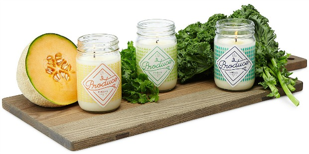 Produce Candles   UncommonGoods