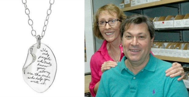 Penmanship Meets Pendant: BB Becker's Your Story Necklace