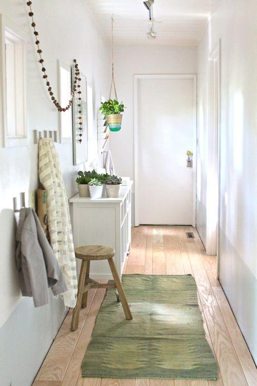 The Treehouse: Hallway Turned Mudroom | Design Mom