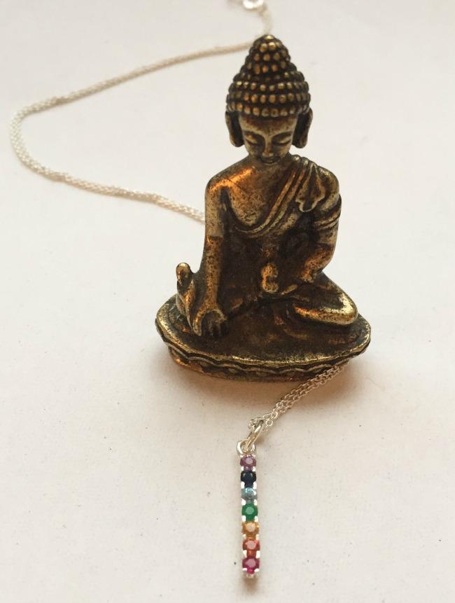 Precious Gem Chakra Balancing Necklace | UncommonGoods