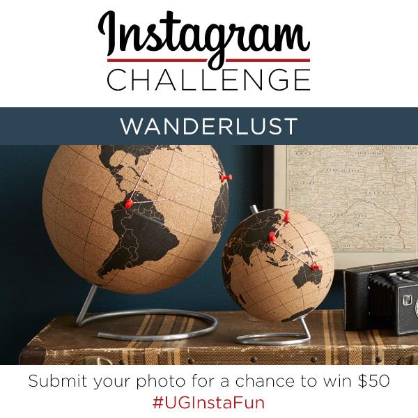 Instagram Challenge | Wanderlust | UncommonGoods