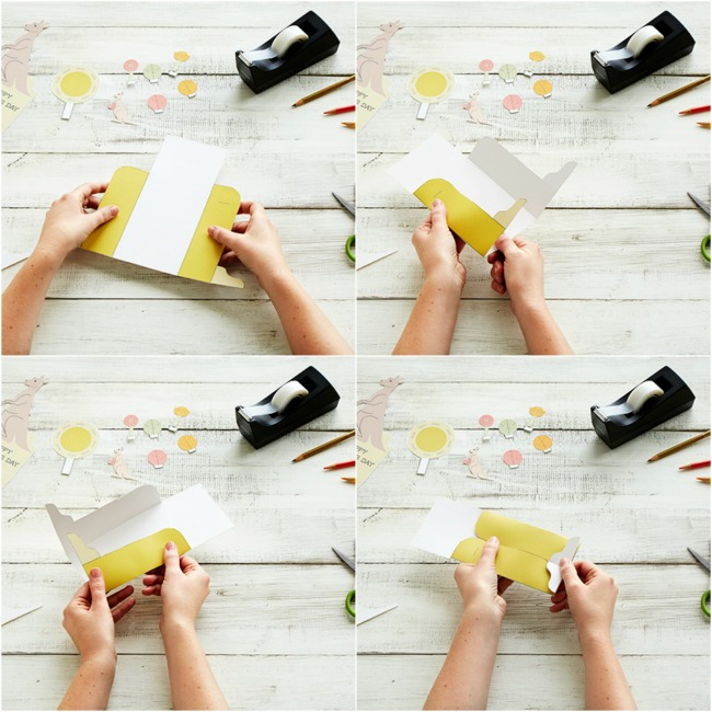 how to make a mothers day card step by step