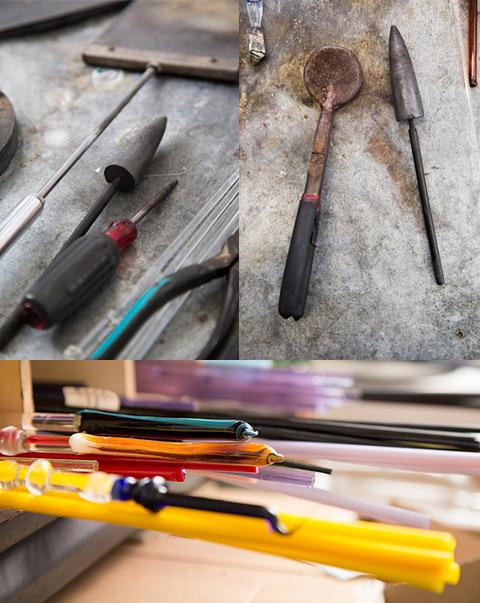 A few of Jim's tools