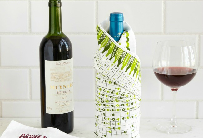 Wine Towel | UncommonGoods