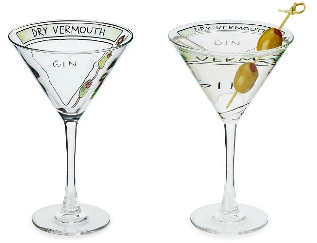 Martini Diagram Glassware 650 - 2