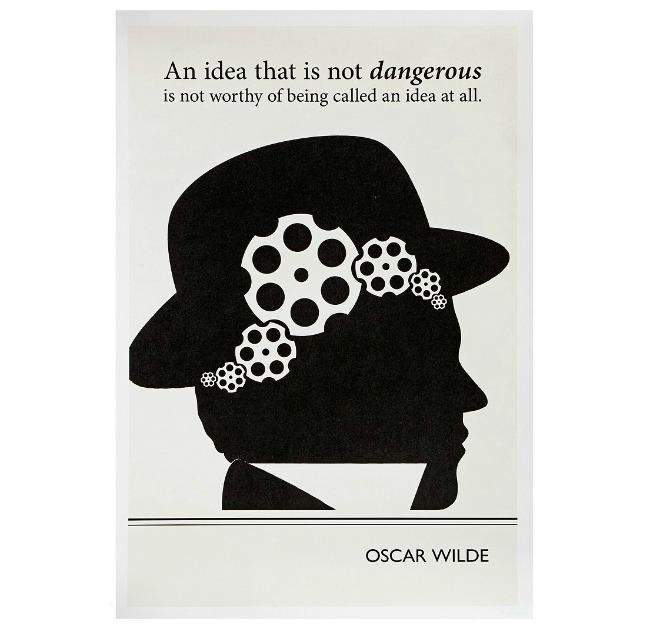 Wilde Literary Poster 650