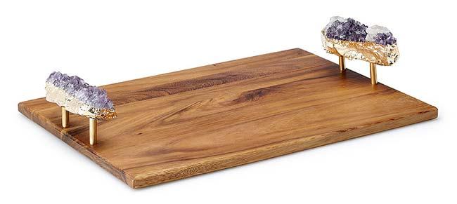Amethyst Serving Platter   UncommonGoods
