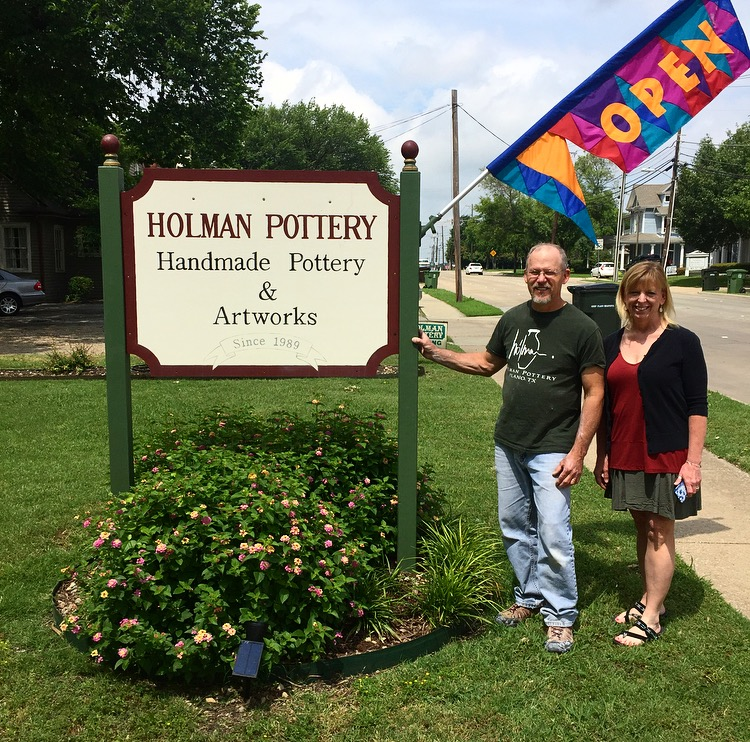 Tony and Debbie Holman