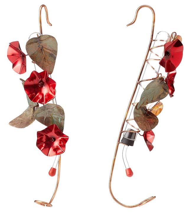 Copper Hummingbird Feeder   UncommonGoods