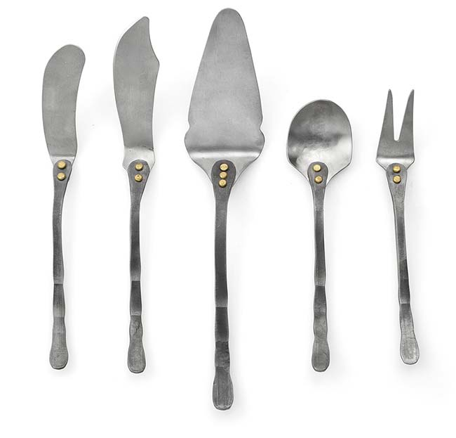 Hand Forged Cheese Set   UncommonGoods