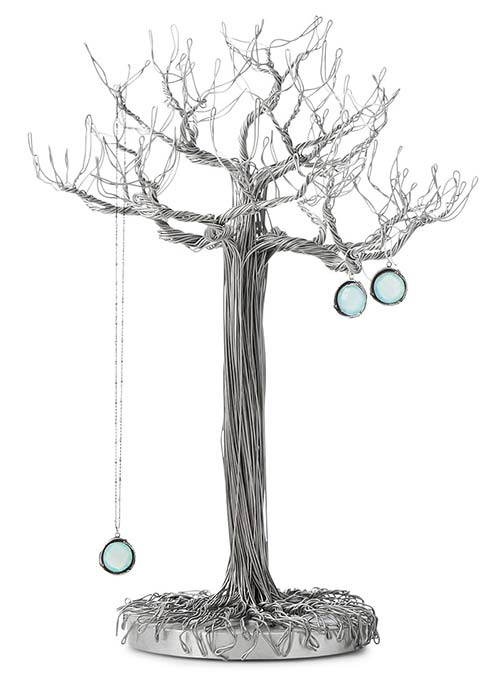 Wire Sculpture Jewelry Tree   UncommonGoods