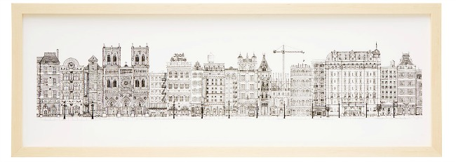 Cityscape Print - featured