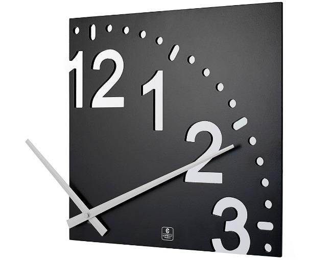 Infinity Wooden Wall Clock   UncommonGoods