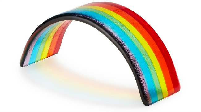 Over the Rainbow Paperweight | UncommonGoods