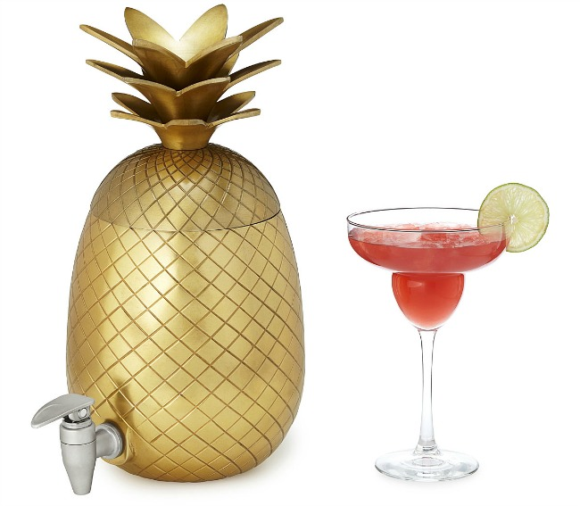 Pineapple Drink Dispenser | UncommonGoods