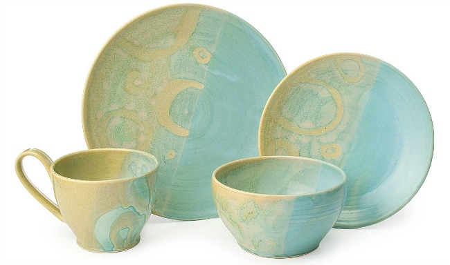 Summertide Stoneware Dishware Collection   UncommonGoods