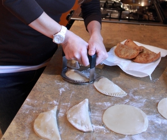 Empanada Fork with Dough | UncommonGoods