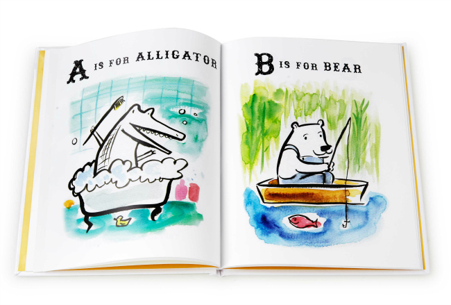 A is for Alligator, B is for Bear