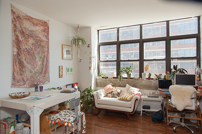Artist Danielle Kroll's Studio | UncommonGoods