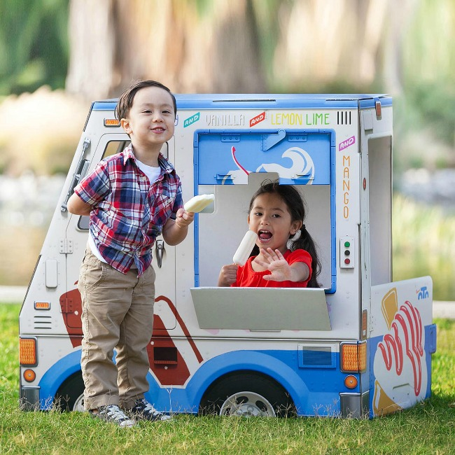 Ice Cream Truck Playhouse | UncommonGoods