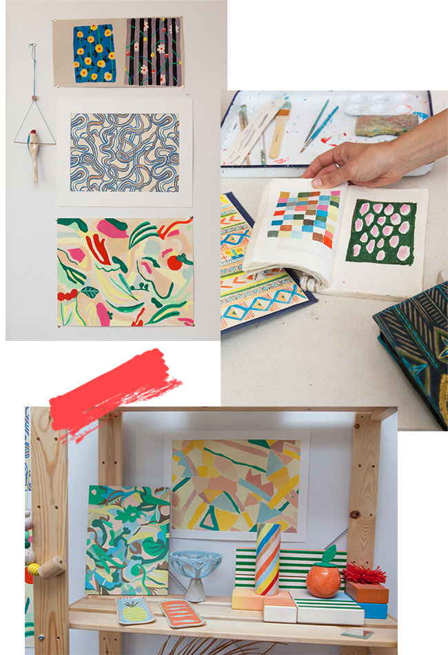 Danielle Kroll Paintings and Sketch Books | UncommonGoods