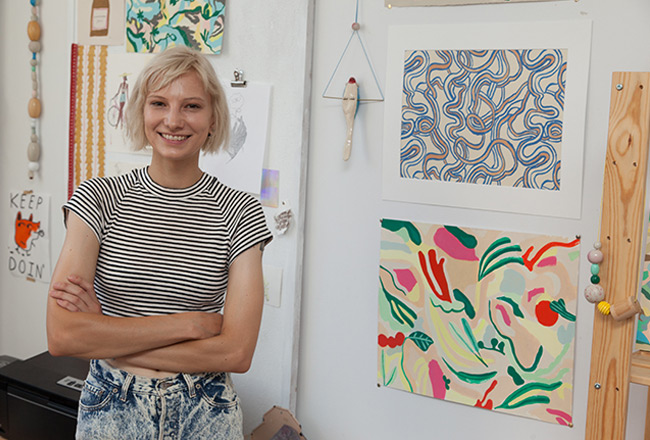 Inside the Artist's Studio with Danielle Kroll | An UncommonGoods Studio Tour