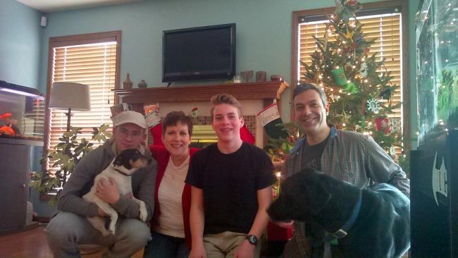 John, Vanessa, and Family