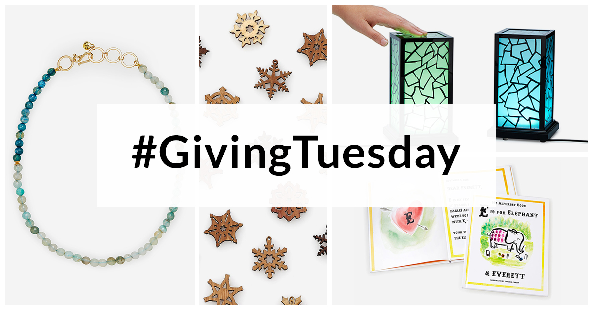 Celebrate #givingtuesday | UncommonGoods