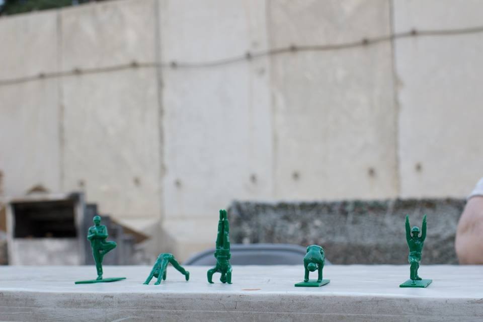 Yoga Joes - Green Army Men Practicing Traditional Yoga Poses
