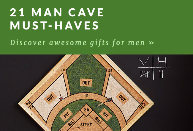Must Have Man Cave Gifts : Gifts for the impossible to shop mom goods