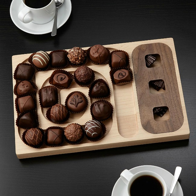 A-Maze-Ing Chocolate Server | UncommonGoods