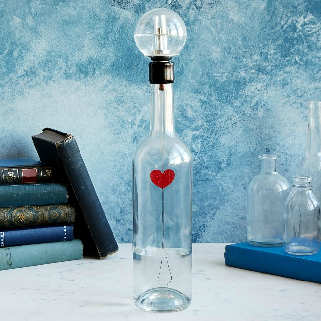 Beating Heart in a Bottle Sculpture | UncommonGoods