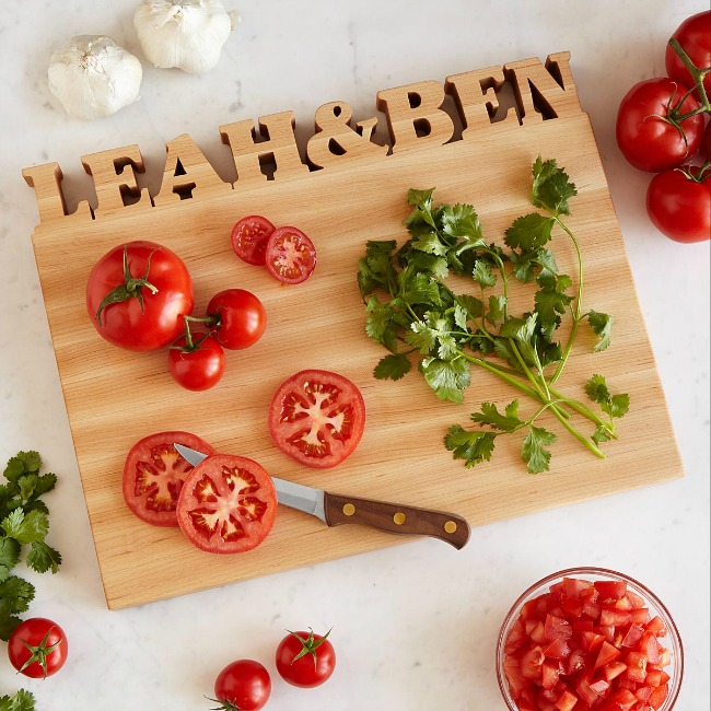 Personalized Cutting Board | UncommonGoods