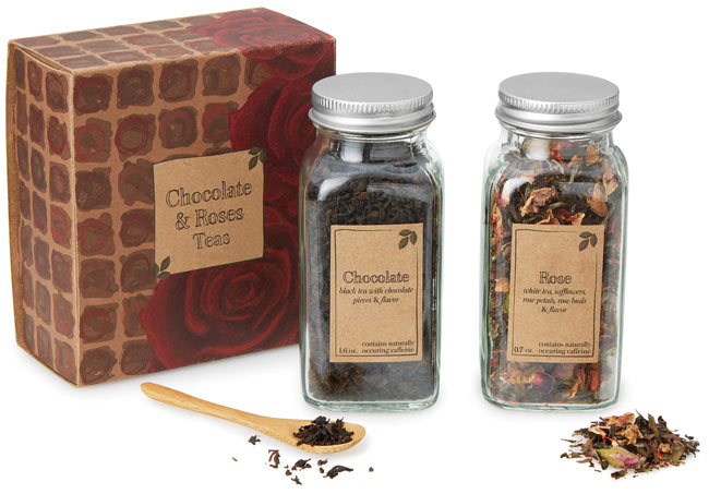 Chocolate & Roses Teas - UncommonGoods