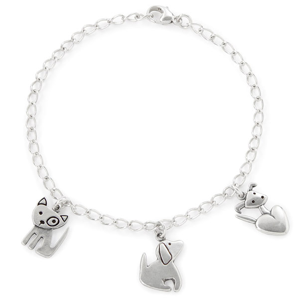 Puppy Love Charm Bracelet - UncommonGoods