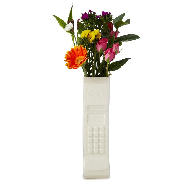 Brick Phone Vase - UncommonGoods