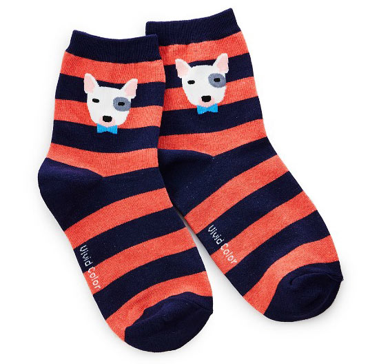 Bull Terrier Socks - UncommonGoods