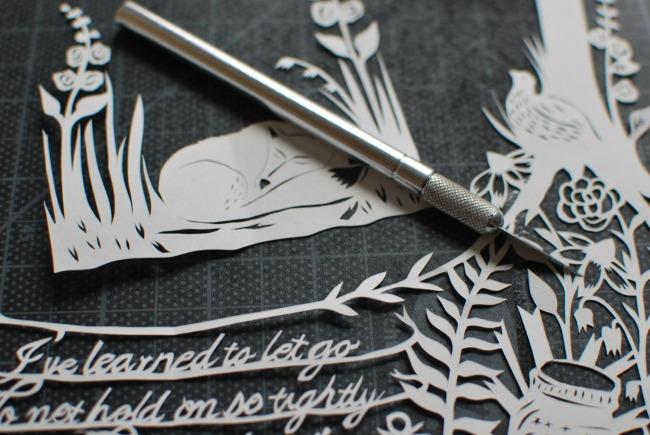 Annie Howe - Making Papercuts