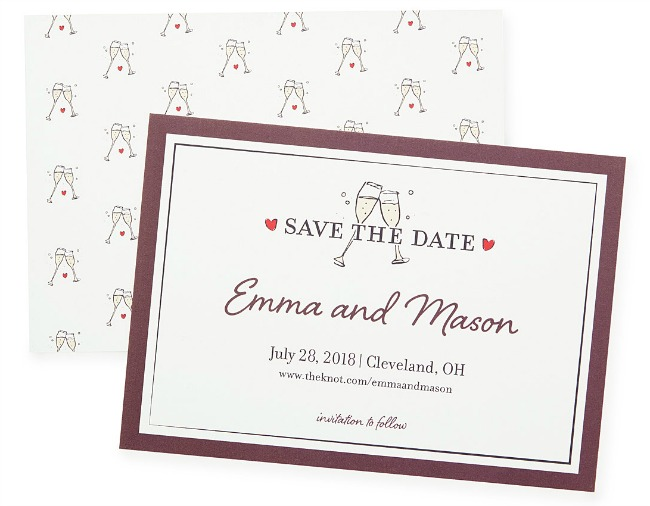 Wedding Crest Save the Date - UncommonGoods