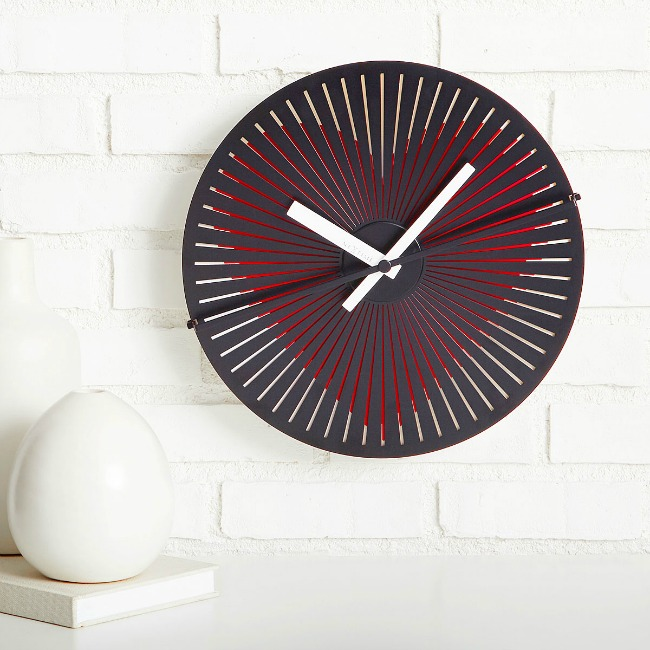 Beating Heart Wall Clock - UncommonGoods