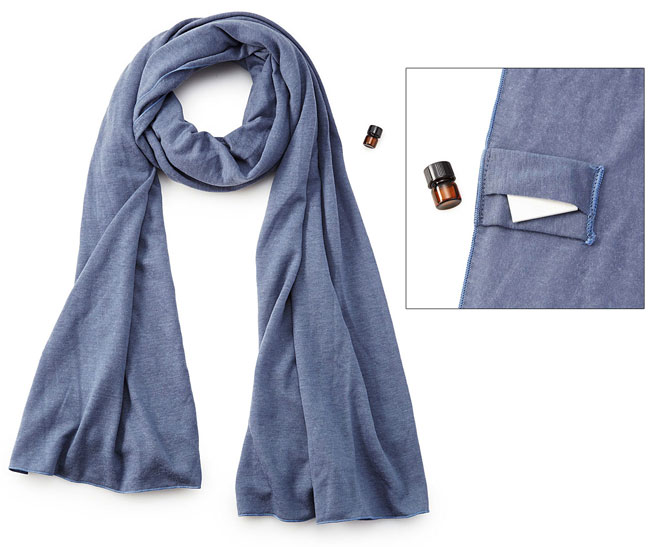 Aromatherapy Knit Jersey Scarf - UncommonGoods