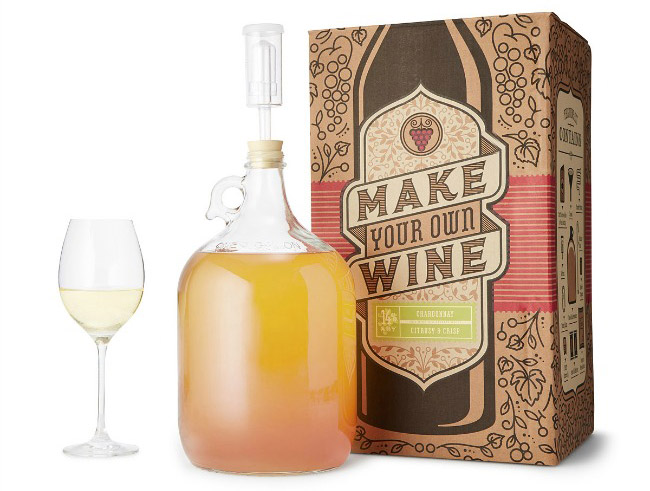 Chardonnay Making Kit - UncommonGoods