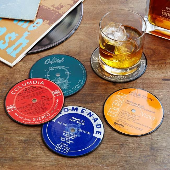Record Coasters | UncommonGoods
