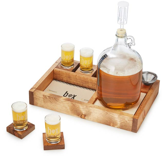 One Gallon Microbrewing Kit | UncommonGoods