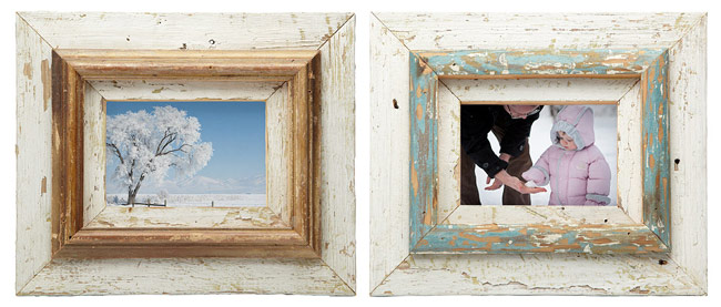 Repurposed Layered Wood Frames - UncommonGoods